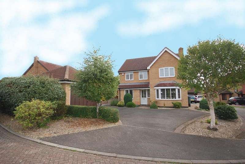 4 Bedrooms Detached House for sale in Pollard Close, Melton Mowbray