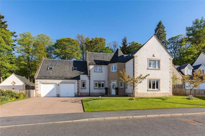 5 Bedrooms Detached House for sale in Harleyburn Court, Melrose, Scottish Borders
