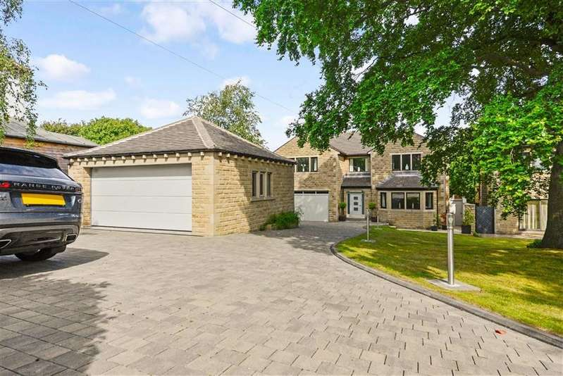 4 Bedrooms Detached House for sale in Dingley Road, Edgerton, Huddersfield, HD3