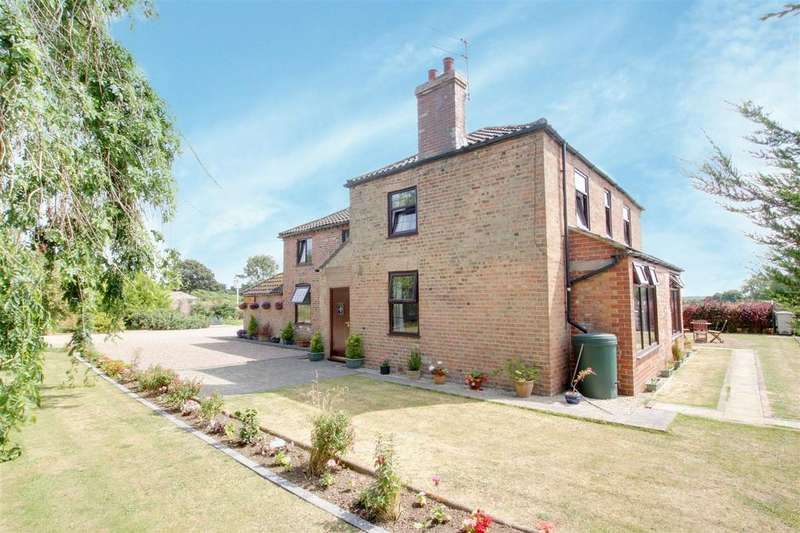4 Bedrooms Detached House for sale in Church Lane, Ulceby, Alford