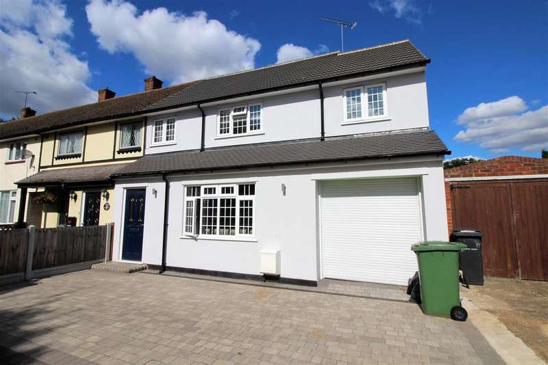 4 Bedrooms End Of Terrace House for sale in Fullarton Crescent, South Ockendon
