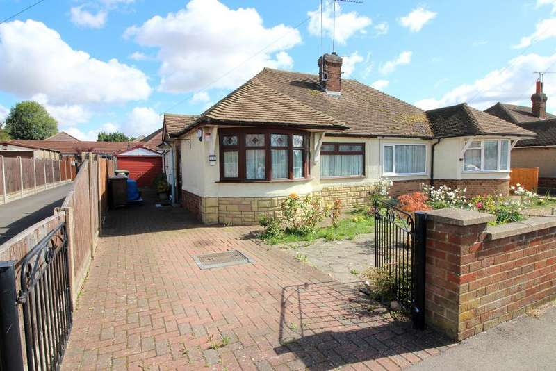 2 Bedrooms Bungalow for sale in Laburnum Grove, Luton, Bedfordshire, LU3 2DW