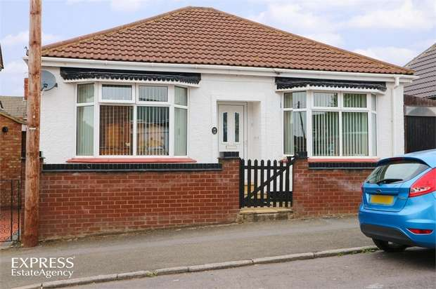 2 Bedrooms Detached Bungalow for sale in Sydney Street, Kettering, Northamptonshire