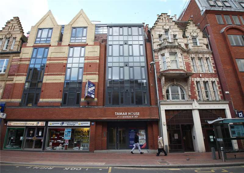 1 Bedroom Flat for sale in Tamar House, Station Road, Reading, Berkshire, RG1
