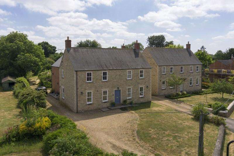 5 Bedrooms Detached House for sale in Warmington, Near Oundle, PE8