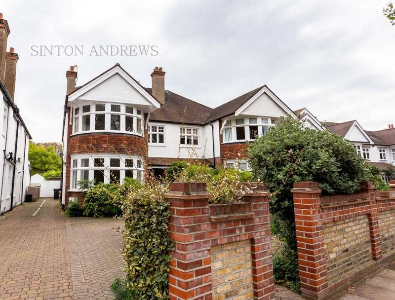 6 Bedrooms Semi Detached House for sale in Elm Grove Road, Ealing, W5