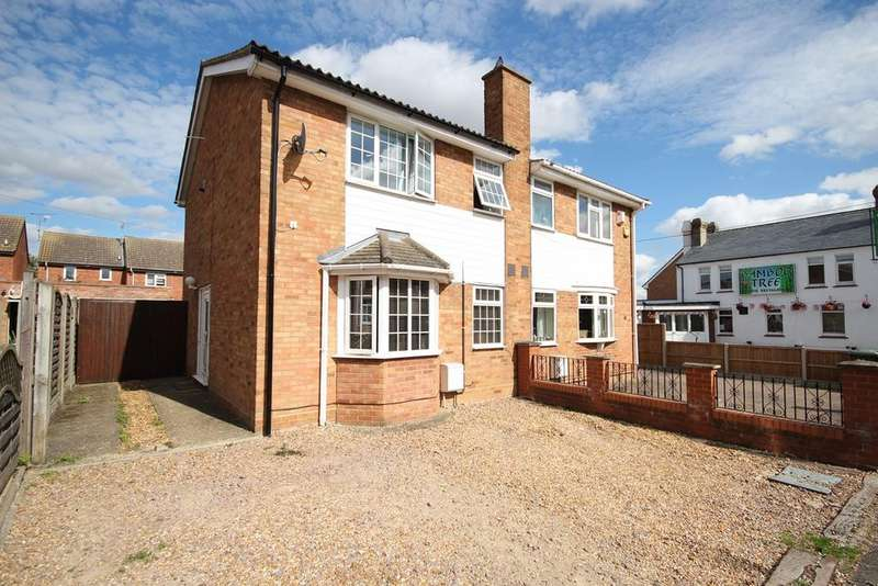 3 Bedrooms Semi Detached House for sale in Fakeswell Lane, Lower Stondon, SG16