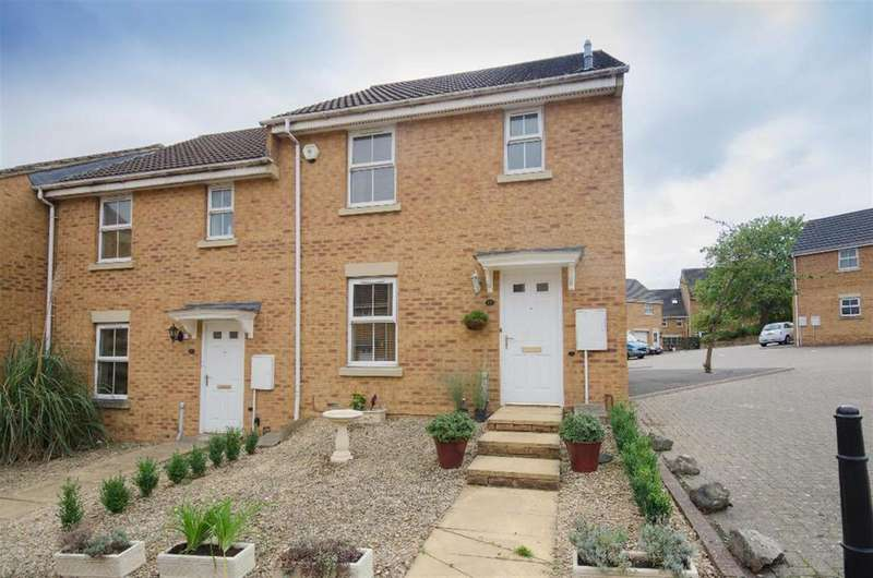 3 Bedrooms End Of Terrace House for sale in Casson Drive, Stapleton, Bristol, BS16 1WP