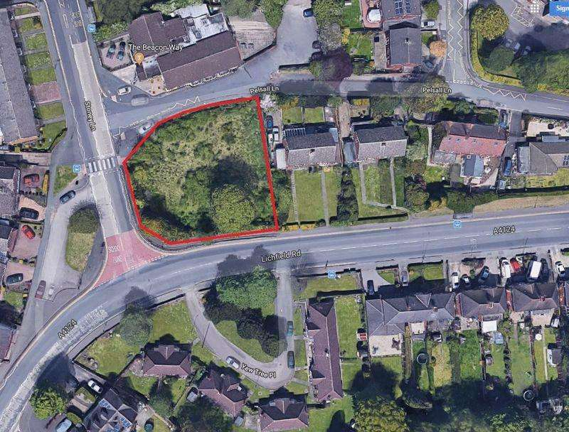Land Commercial for sale in Lichfield Road, Walsall