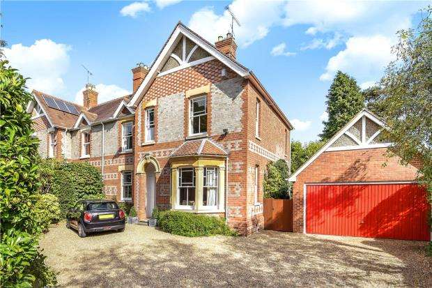 4 Bedrooms Semi Detached House for sale in Basingstoke Road, Spencers Wood, Reading