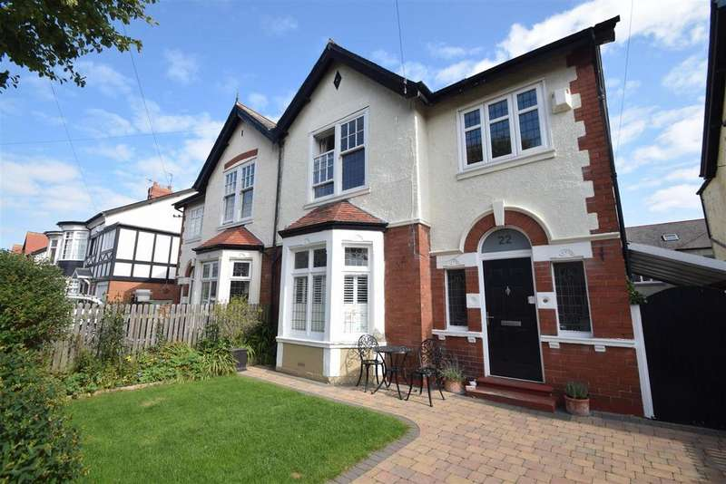 4 Bedrooms Semi Detached House for sale in Evesham Avenue, Whitley Bay