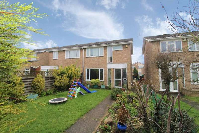 3 Bedrooms Semi Detached House for sale in Ash Walk, Kempston, MK42