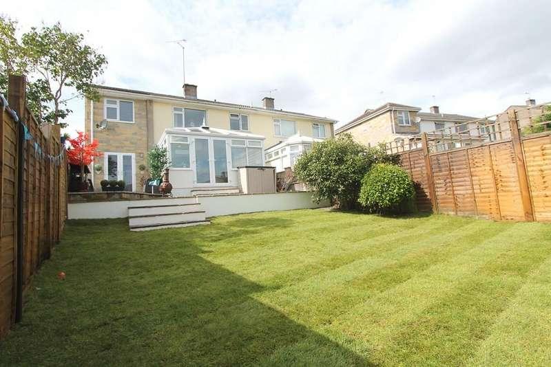 4 Bedrooms Semi Detached House for sale in Parklands, High Littleton, Bristol