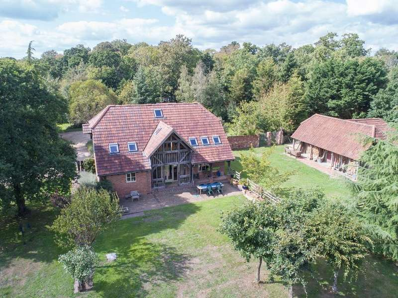 5 Bedrooms Detached House for sale in Ossemsley, Christchurch, BH23