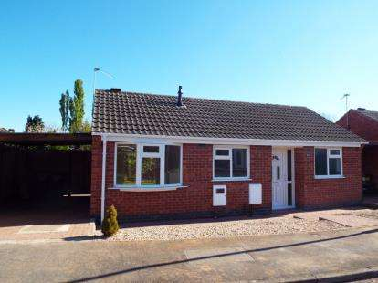 2 Bedrooms Bungalow for sale in The Coppice, Thurmaston, Leicester, Leicestershire