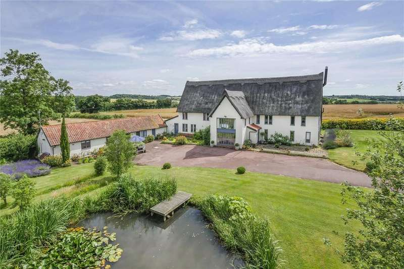 5 Bedrooms Detached House for sale in Preston St Mary, Nr Lavenham, Sudbury, Suffolk, CO10