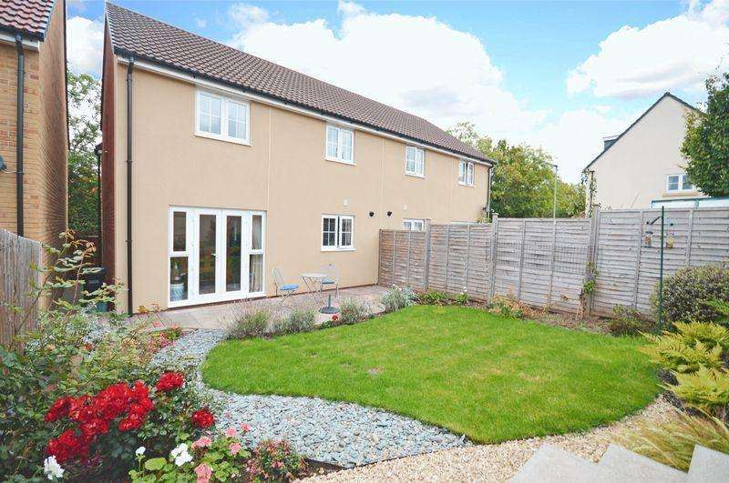3 Bedrooms Semi Detached House for sale in Summer Leaze, Bishop Sutton, Chew Valley, Bristol, BS39 5EG