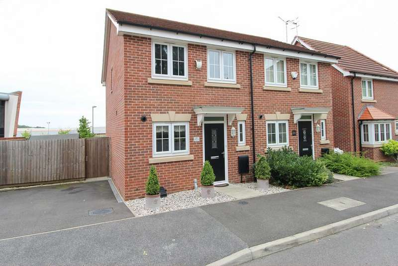 2 Bedrooms Semi Detached House for sale in Maudesley Avenue, Chesterfield
