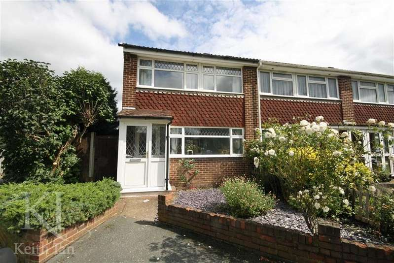 3 Bedrooms End Of Terrace House for sale in Westfield Close, Waltham Cross