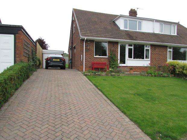3 Bedrooms Semi Detached House for sale in HILLCREST GROVE, ELWICK, HARTLEPOOL AREA VILLAGES