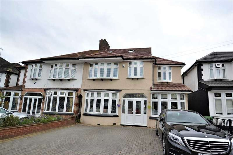 6 Bedrooms Semi Detached House for sale in Abbotswood Gardens, Clayhall, Ilford