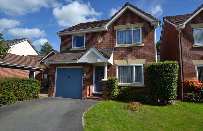 3 Bedrooms Detached House for sale in Foxglove Close, Barnstaple