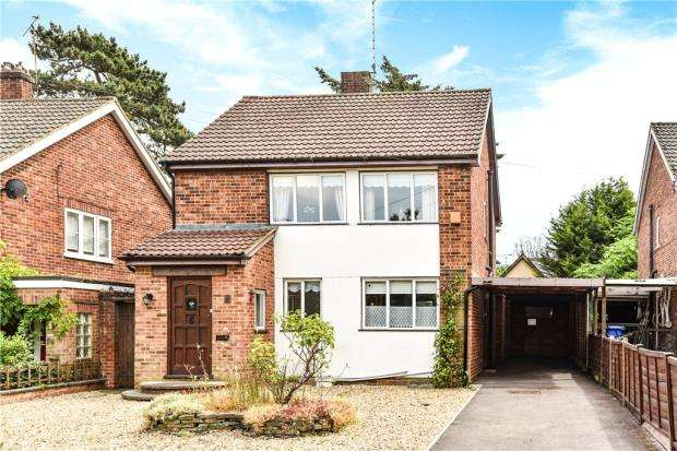 4 Bedrooms Link Detached House for sale in Oakfield Road, Blackwater, Surrey