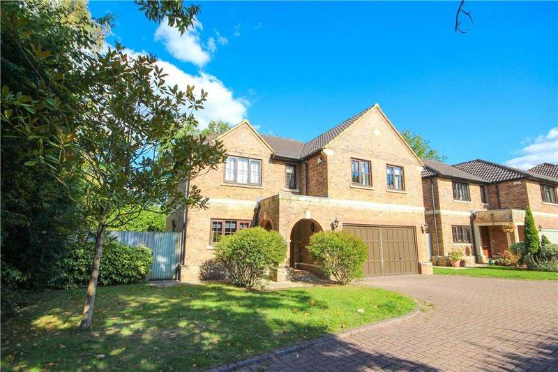 5 Bedrooms End Of Terrace House for sale in Ryelaw Road, Church Crookham, Fleet, Hampshire, GU52