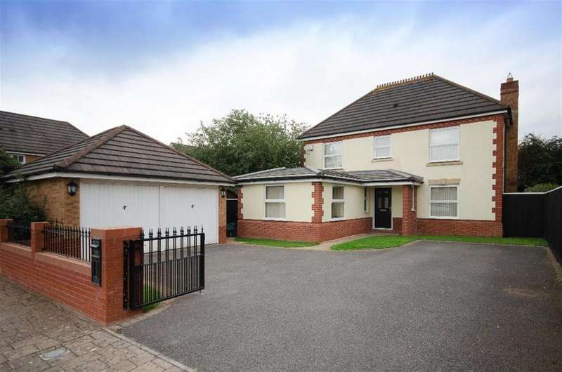 4 Bedrooms Detached House for sale in Wadham Grove, Emersons Green, Bristol, BS16 7DW
