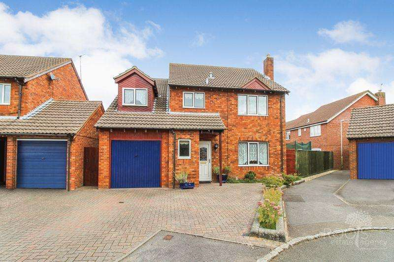 4 Bedrooms Detached House for sale in Quarrington Close, Thatcham