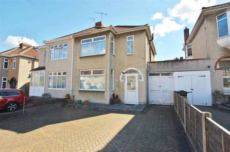 3 Bedrooms Semi Detached House for sale in Vicarage Road, Bishopsworth, Bristol