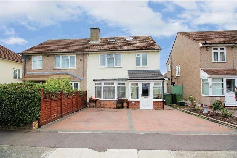 5 Bedrooms Semi Detached House for sale in Woodcroft, Mottingham