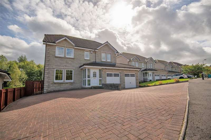 5 Bedrooms Detached House for sale in Dunning Drive, Westerwood, Cumbernauld