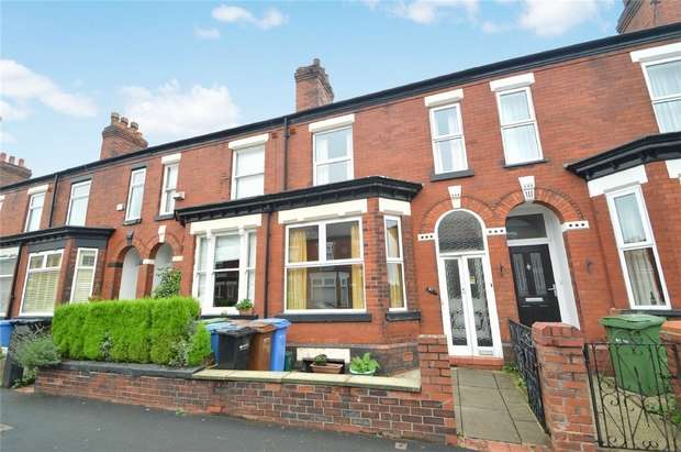 3 Bedrooms Terraced House for sale in Fox Street, Edgeley, Stockport, Cheshire