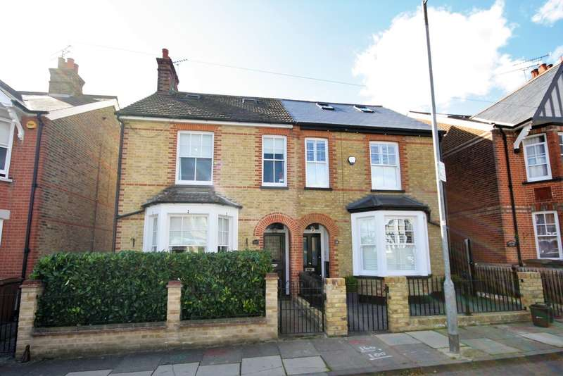 4 Bedrooms Semi Detached House for sale in Hill Road, Chelmsford
