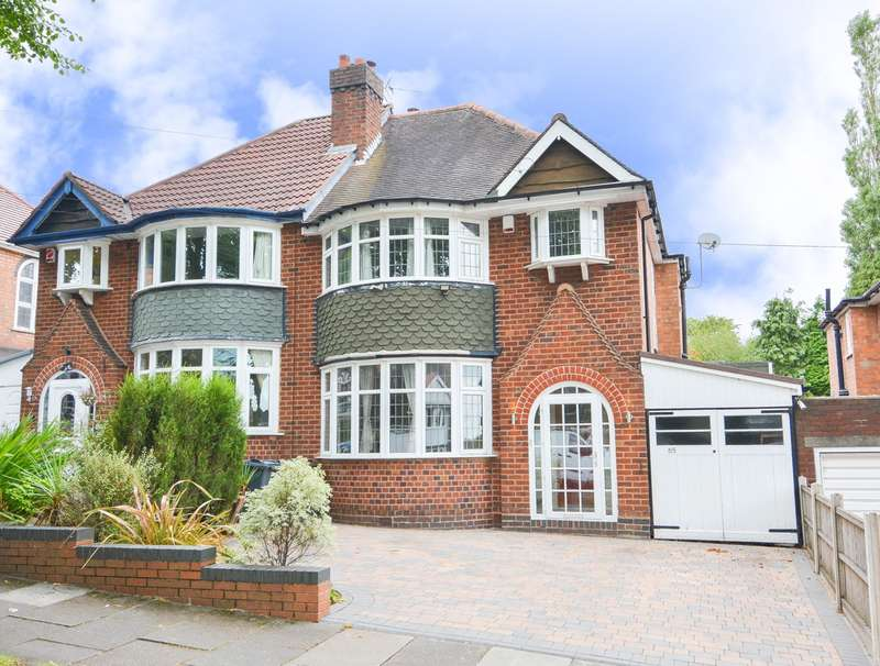3 Bedrooms Semi Detached House for sale in Whitley Court Road, Quinton, Birmingham, B32