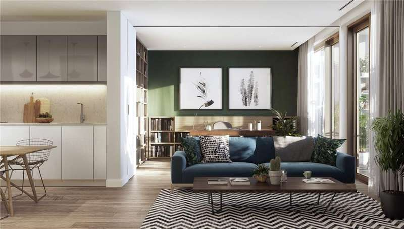 1 Bedroom Flat for sale in The Otto, Tiger Way, Hackney, London, E5