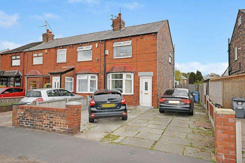 2 Bedrooms End Of Terrace House for sale in Warrington Road, Widnes