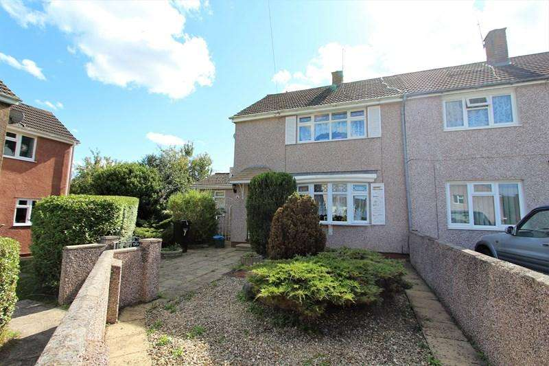 2 Bedrooms End Of Terrace House for sale in Richmond Close, Keynsham, Bristol