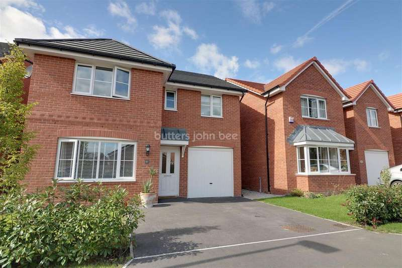 4 Bedrooms Detached House for sale in Foxglove Way, Rudheath