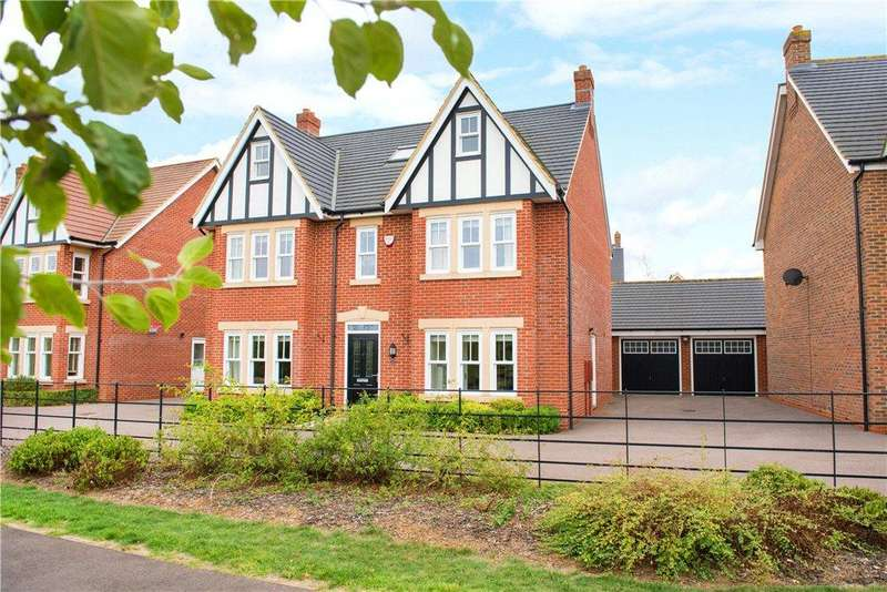 5 Bedrooms Detached House for sale in Pennard Close, Great Denham, Bedfordshire