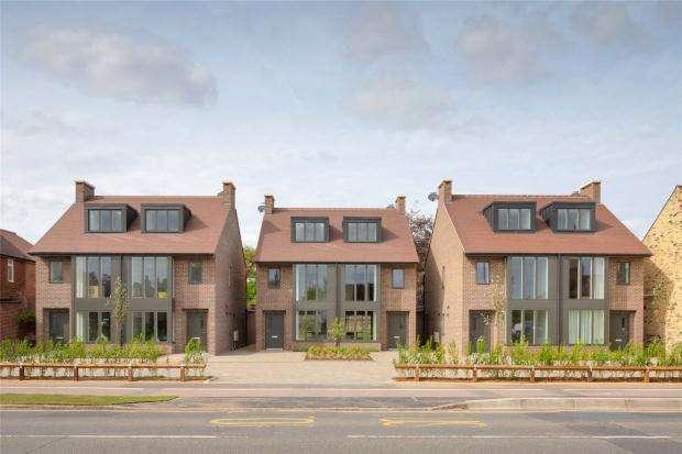 4 Bedrooms Semi Detached House for sale in Sorbus Walk, Milton Road, Cambridge