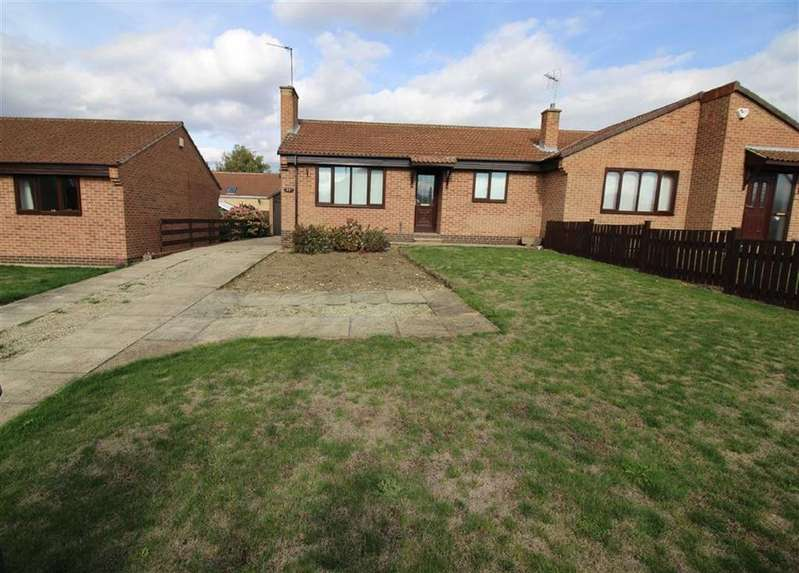 2 Bedrooms Semi Detached Bungalow for sale in Crookhill Road, Conisbrough