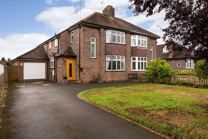 3 Bedrooms Semi Detached House for sale in Wistaston, Cheshire