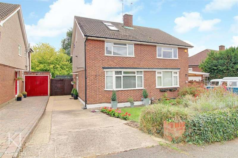 4 Bedrooms Semi Detached House for sale in Milton Road, Ware - Handy for town / train station