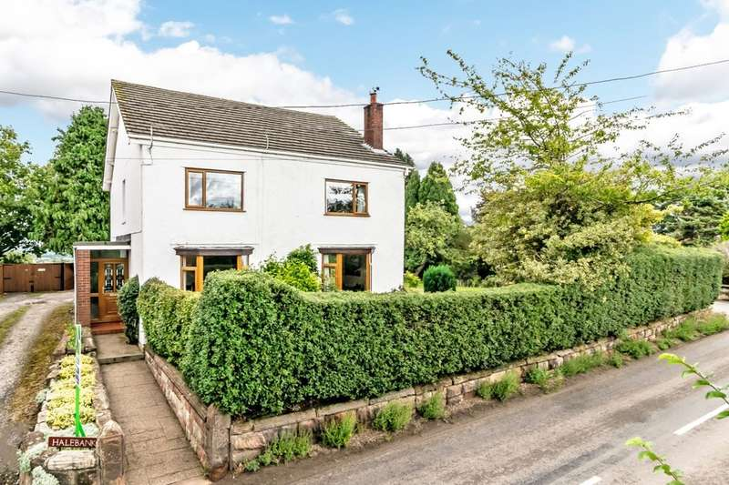 4 Bedrooms Detached House for sale in Norley Road, Kingsley, Frodsham, WA6
