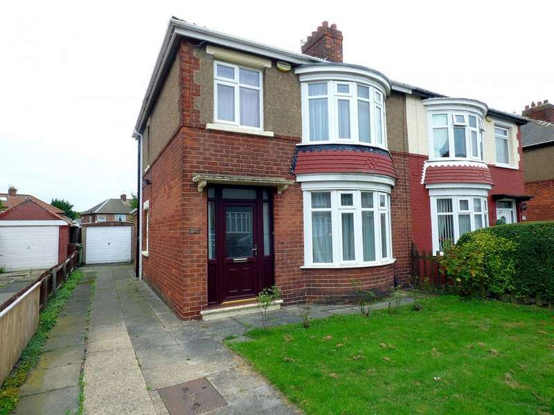 3 Bedrooms Semi Detached House for sale in Park Avenue, Thornaby, TS17