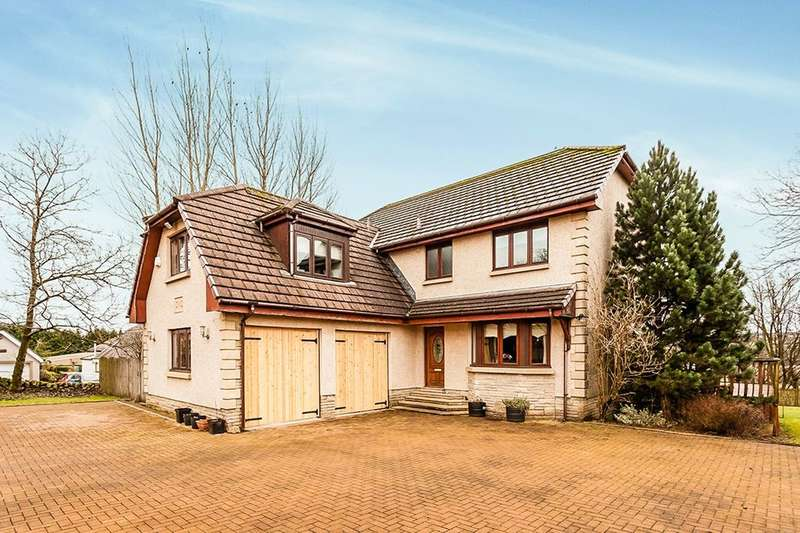 4 Bedrooms Detached House for sale in Glasgow Road, Longcroft, FK4