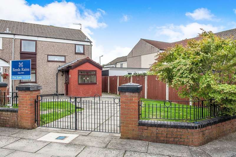 3 Bedrooms Semi Detached House for sale in Roseside Drive, Liverpool, L27
