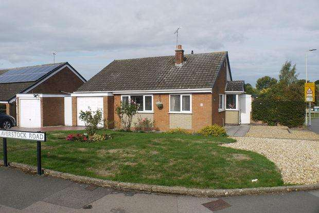 2 Bedrooms Detached Bungalow for sale in Laverstock Road, Little Hill, Wigston, Leicester, LE18